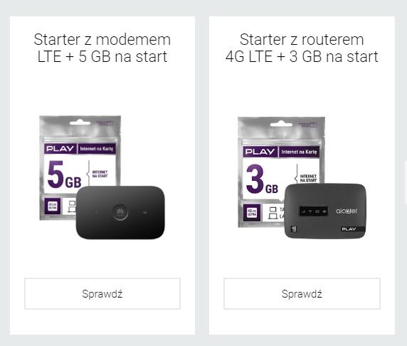 internet na kartę z modemem