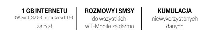 t mobile taryfa internet na kartę